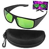 Xingruyu Grow Room LED Light Brille, Gläser Gegen UV, IR, Strahlen Schutzbrille Augengläser für...