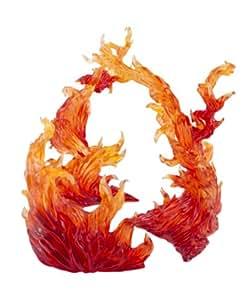 Bandai Tamashii Nations Effect Burning Flame Action Figure, Red