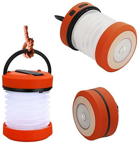 CAO Lampe Dynamo rétractable LED Orange