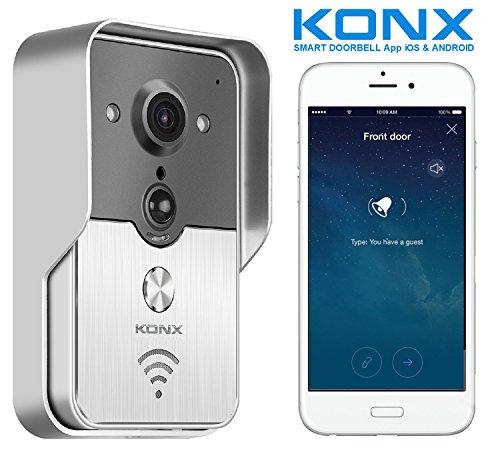 Videoportero conectado KONX KW01Gen2, 720p;...