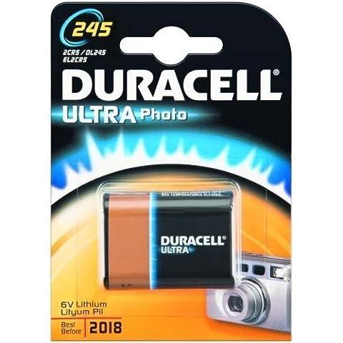 DURACELL Batterie cam?ra Duracell Ultra M3 type/r?f. 245 (1 unit? sous blister), 6V, Lithium