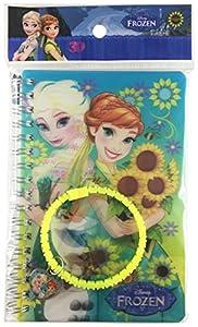 Memory Technology ed97231-Frozen Fever Notes 3D con Pulsera con Brillantes y Charm