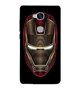 Citydreamz Ironman\Superhero Hard Polycarbonate Designer Back Case Cover For Huawei Honor 5X