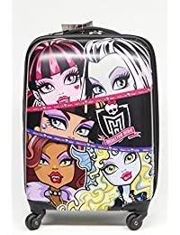 Monster High Monster-High Voyage Valise Trolley rigide ABS 4 roues valise 33x45X20