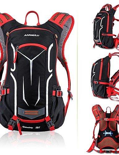 ZXC/Fahrrad Schulter Rucksack Ultralight Outdoor Sport Reiten Reise Bergsteigen Hydration Wasser Tasche Gelb