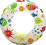Unibos Inflatable Lively Print Swimming Tube Water Toy Inflatable Swim Ring Brand New