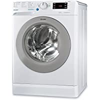 Indesit BWE 101484X WSSS IT Independiente Carga frontal 10kg 1400RPM A+++ Blanco - Lavadora (Independiente, Carga frontal, Blanco, Izquierda, 71 L, Plata)