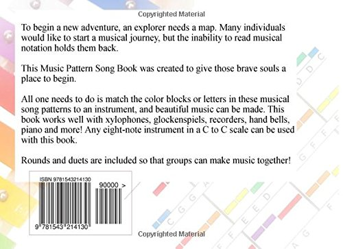 Popular 8 Note Songs: Music Patterns for Xylophone, Glockenspiel, Recorder, Bells and Piano: Volume 1