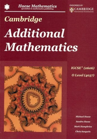CAMBRIDGE IGCSE ADDITIONAL MATHEMATICS 0606