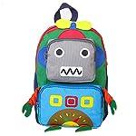Baby cute Backpack,Boy Girl Kids Robot Backpack School Bag Rucksack Travel Backpack