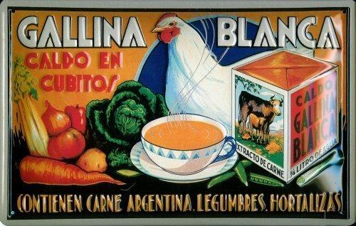 gallina-blanca-2metal-plaque-sign-metal-tin-sign-20x-30cm
