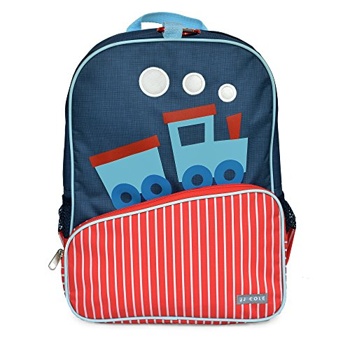 Little JJ Cole Toddler Backpack, Train by JJ Cole