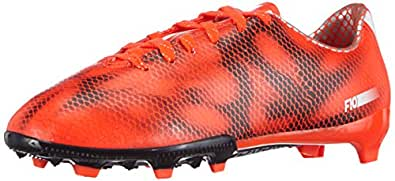 adidas F10 Firm Ground, Jungen Fußballschuhe, Rot (Solar Red/Ftwr White/Core Black), 30 EU (11.5 Kinder UK)