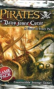 Wizkids Games 61201 - Piratas la Maldición Davy Jones, 18 Packs
