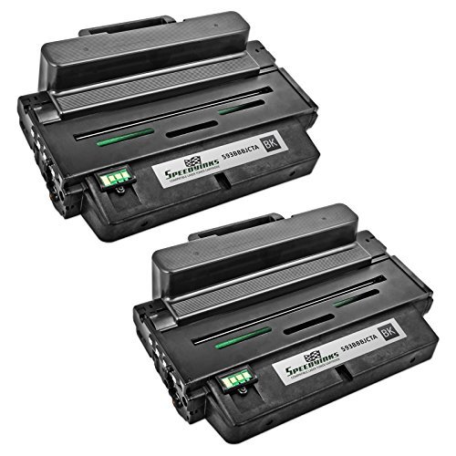 Speedy Inks Compatible Toner Cartridge for Dell B2375/ 593-BBBJ (Black, 2-Pack)