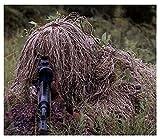 ATR Tuta mimetica mimetica, 3D realistica Adatta per fucile da caccia militare da cecchino dell'esercito militare del bosco Esecuzione di fotografia a cinque pezzi (colore: taglia grossa sotto 195 cm)