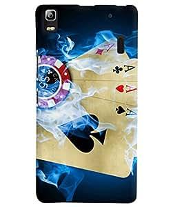 FurnishFantasy Designer Back Case Cover for Lenovo K3 Note