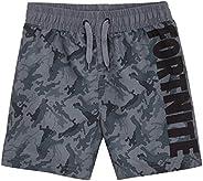 Fortnite Bañador Niño, Pantalones Cortos Niño con Estampado Camuflaje, Bermudas Niño para Playa Piscina, Bañad