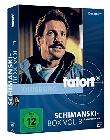Tatort: Schimanski-Box, Vol. 3 [3 DVDs] (Schimanski Tatort)