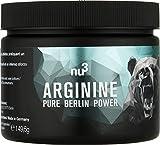 nu3 pures L-Arginin | 140 Kapseln | unterstützt bei hoher sportlicher Belastung | gehört zu den semi-essentiellen Aminosäuren | speziell für Leistungssportler & Bodybuilder mit Fokus auf Muskelaufbau | Vegan