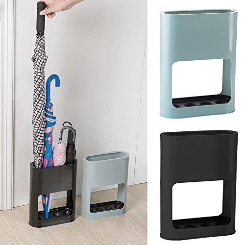 Paragüero interior bandeja goteo plástico hogar