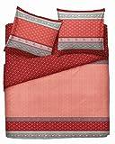 Bassetti Bettwäsche | CAMAIORE V1 - 135 x 200 Farbe Rot