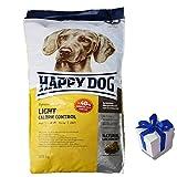 Happy Dog 12,5 kg Supreme Light Calorie Control Hundefutter trocken + Geschenk