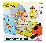 K's Kids Baby Crawl Tunnel, Multi Color