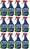GARDOPIA Sparpaket: 12 x 1 Liter Bayer Blattanex Ungeziefer & Ameisen Spezial-Pump-Spray + Gardopia Zeckenzange mit Lupe