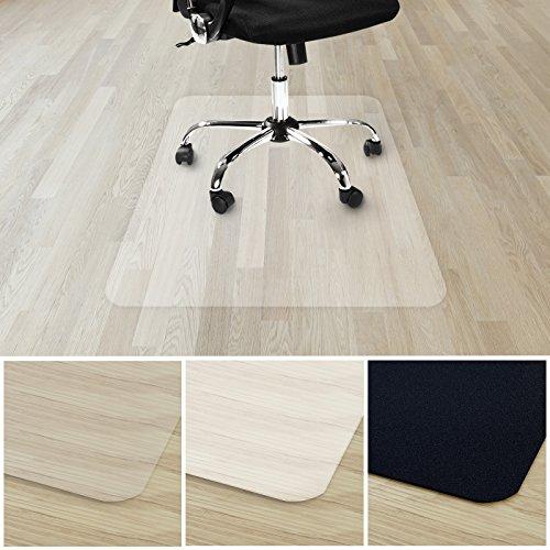 etm® Bodenschutzmatte für Hartboden | verschiedene Farben | 100{2d465374bcae2bfec035608b0b75689a5c0cb336d29ae988bd627208b14335ad} ohne BPA & Phthalate - Geruchsfrei | Bürostuhlunterlage für zuhause und im Büro | viele Größen (transparent - 90x120 cm)