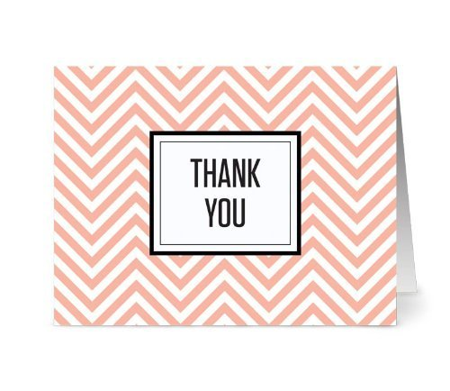 chevron-thank-you-coral-36-thank-you-note-cards-for-999-gray-envelopes-included-by-note-card-cafe