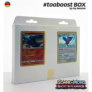my-booster Box #tooboost RIHORNIOR und PORYGON-Z - SM03 - 10 Deutsche Karten Pokemon