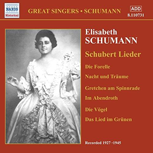 Schumann, Elisabeth: Schubert Lieder (1927-1945)