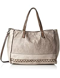 L000680nd, Womens Bag, Brown (Mauve), 12x32x32 cm (B x H T) Caterina Lucchi