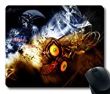 Gaming Mouse pad, The Elder Scrolls Skyrim Shots Characters Dragons non-slip neoprene rubber standard size 22,9cm (220mm) x 17,8cm (180MM) x 1/8(3mm) comfortable computer mouse Mat Color 24