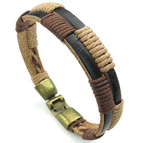 anazoz-fashion-jewelry-brown-mens-leather-bangle-bracelet-weave-color-brown