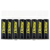 Powerex Low Self-Discharge Precharged AA Rechargeable Nimh Batteries , (MH-8AAP-BH)