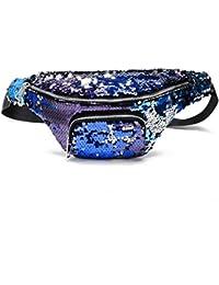 Women Fashion Sequin Zipper Dacron Wallet Clutch Purse Mobile Phone Bag Cross-Body Casual Shoulder Bag For Women...