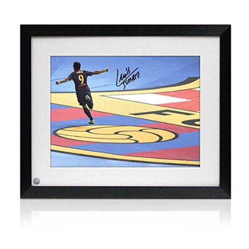 Luis Suarez firmato e Foto Framed: Champions League obiettivo finale - Finale Framed