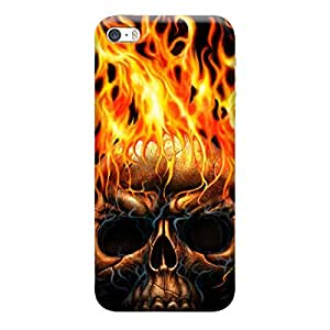 Skintice Designer Back Cover with direct 3D sublimation printing for Apple iPhone 5