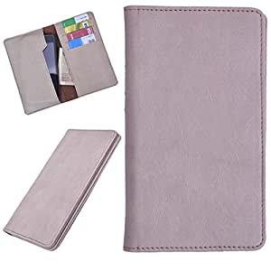 DCR Pu Leather case cover for Celkon Q5K Power (veg)