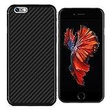 iPhone 6 Hülle, Nillkin Synthetic Fiber Ultra Slim Schutzhülle für iPhone 6 und 6s, Schwarz