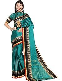 EthnicJunction Women's Art Silk Saree With Blouse