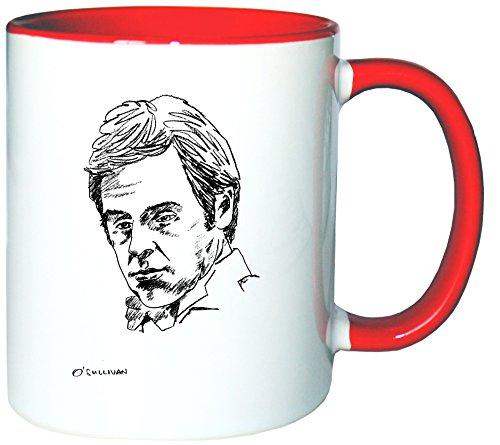Mister Merchandise Tazzine da caffè Coffee Ronnie O`Sullivan O Sullivan Tazze grandi Tazza Teiere molti colori