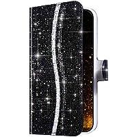 Sweau - Funda para Galaxy S20 (ultrafina, con tarjetero y función atril, piel sintética)
