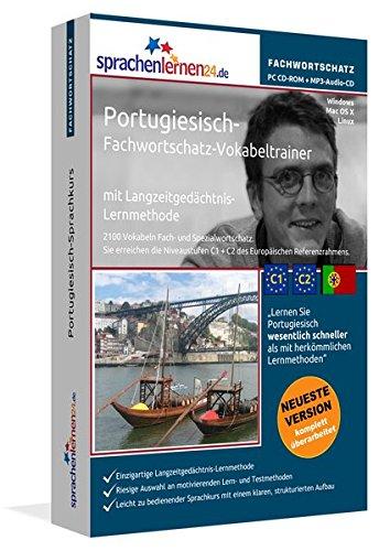 Portugiesisch-Fachwortschatz-Vokabeltrainer mit Langzeitgedächtnis-Lernmethode von...