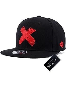Artone Unisexo Carta bordado irregular de Hip Hop del inconformista del Snapback de la gorra de béisbol sombrero...