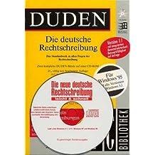 Duden. Die deutsche Rechtschreibung 1.1. CD- ROM zur 21. A. für Windows ab 3.1/95. (2293 889)