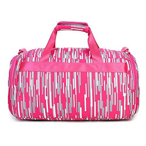 Neuleben Wasserabweisend Sporttasche Reisetasche für Sport Fitness Reise für Damen Mädchen Orange