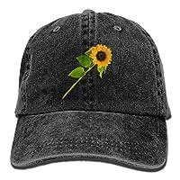 wwoman Beautiful Snapback Cotton Hat Black